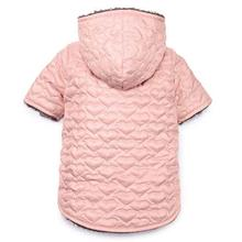 Zack and Zoey Elements Quilted Hearts Dog Dog Jacket - Pink
