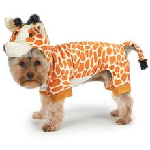 Zack and Zoey Giraffe Halloween Dog Costume