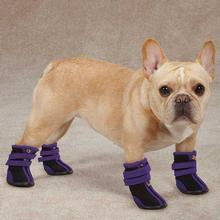 High Top Neoprene Dog Boots - Ultra Violet