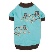 Zack & Zoey Hoot and Howl Owl Dog T-Shirt