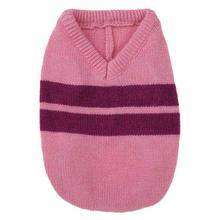 Zack & Zoey Ivy League Dog Sweater - Begonia Pink