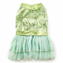 Zack and Zoey Jenny Dog Dress - Mint