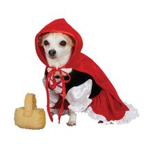 Lil Red Riding Hood Dog Costume