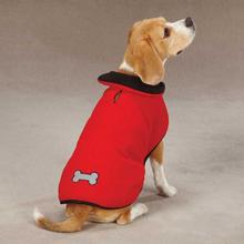 Zack & Zoey Reflective Thermal Dog Jacket - Red