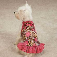 Zack & Zoey Skull-fari Ruffle Dog Dress