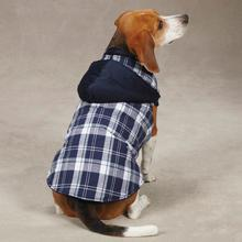 Woodland Dog Jacket - Navy
