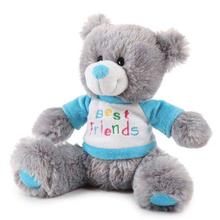 Zanies BFF Bear Dog Toy - Blue