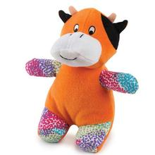 Zanies Confetti Collection Dog Toy - Cow