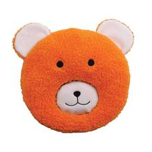 Zanies Fuzzy Face Dog Toy - Bear