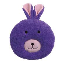 Zanies Fuzzy Face Dog Toy - Bunny