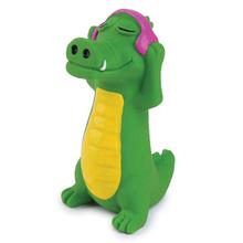 Zanies Groovin Gator Latex Dog Toy - Miles