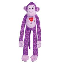 Zanies Groovy Gorilla Dog Toy - Purple