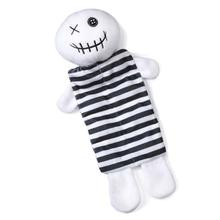 Zanies Halloween Squeaktacular Dog Toy - Skeleton