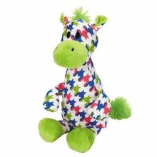 Zanies Heightened Brights Animal Dog Toy - Giraffe