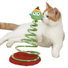 Zanies Holiday Owl Boppers Cat Toy