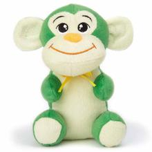 Zanies Honey Monkey Dog Toy - Green