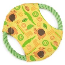 Zanies Jungle Bunch Rope Flyer Dog Toy
