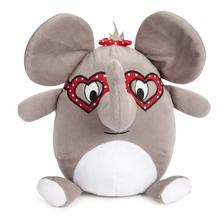 Zanies Love Me Cuddle Buddies Dog Toy - Elephant