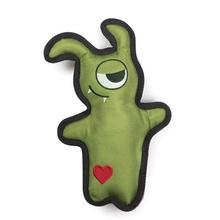Zanies Mischievous Monster Dog Toy - Green