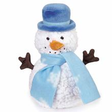 Zanies Mr. Frostington Dog Toy - Blue