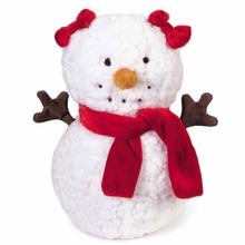 Zanies Mrs. Frostington Dog Toy - Red