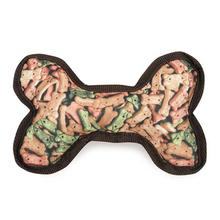Zanies Photo Real Dog Toy - Bone