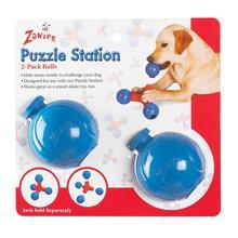 Zanies Puzzle Station Ball 2pk