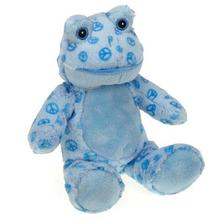 Zanies Ribbits Dog Toy - Blue Peace
