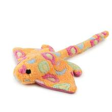 Zanies Sea Charmers Dog Toy - Peach Sting Ray