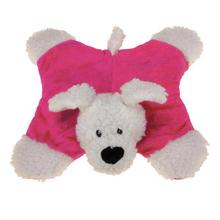 Zanies Sherpa Sidekicks Dog Toy - Raspberry Dog