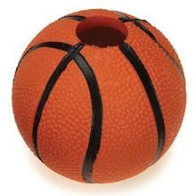 Zanies Sport Star Ball Dog Toy - Basketball