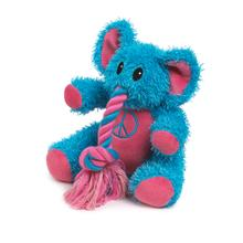 Zanies Trunk Tugger Dog Toy - Blue