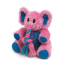 Zanies Trunk Tugger Dog Toy - Pink