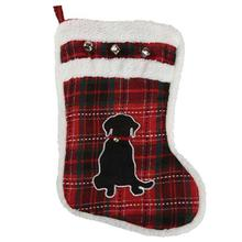Zanies Yuletide Tartan Pet Stocking - Dog