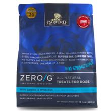 Zero/G All-Natural Dog Treats - Sardine & Whitefish