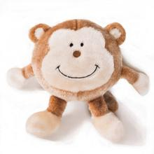 ZippyPaws Brainey Dog Toy - Monkey