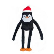 ZippyPaws Holiday Crinkle Dog Toy - Penguin