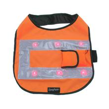ZippyPaws LED Safety Dog Vest - Orange