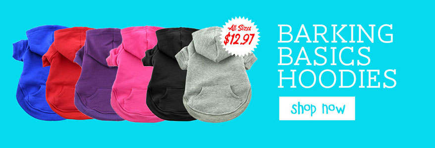Barking Basics Dog Hoodies