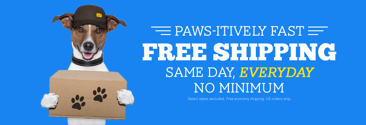 Paws-itively Free Shipping!