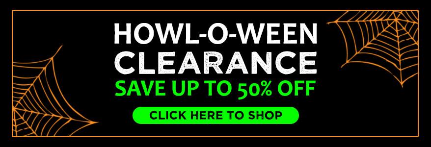 Shop Halloween Clearance